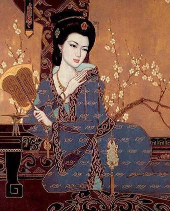 Японская красавица, оригинал