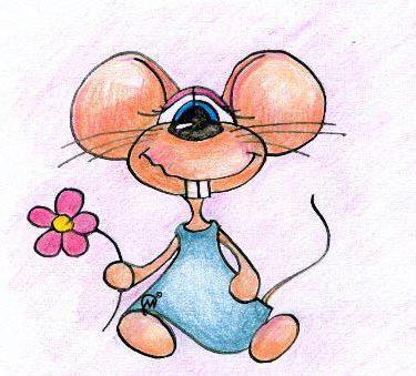 Мышонок для детей, оригинал