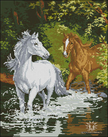 Пара лошадей, пара лошадей