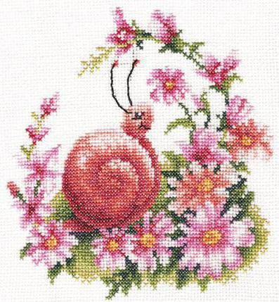 Улитка, улитка, улитки, цветы,