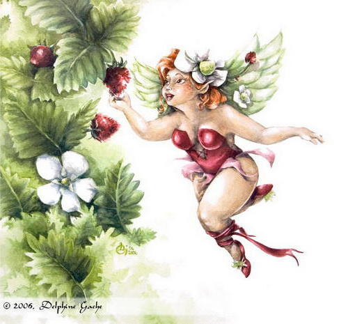 Земляничная фея, сказка