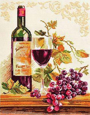 Виноград вино и цветы 50