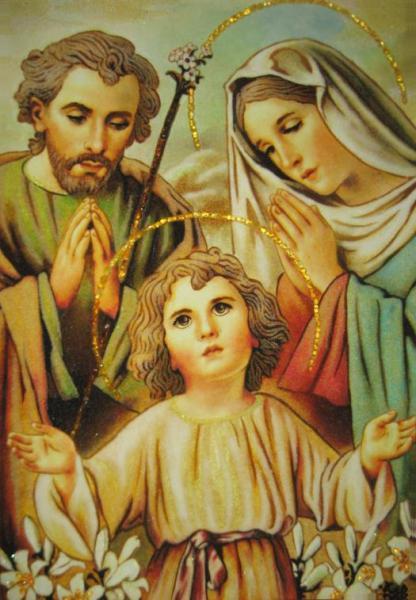 Святое семейство, религия