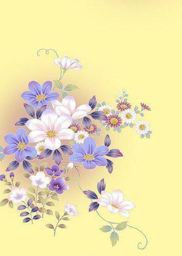 Цветочный орнамент, оригинал