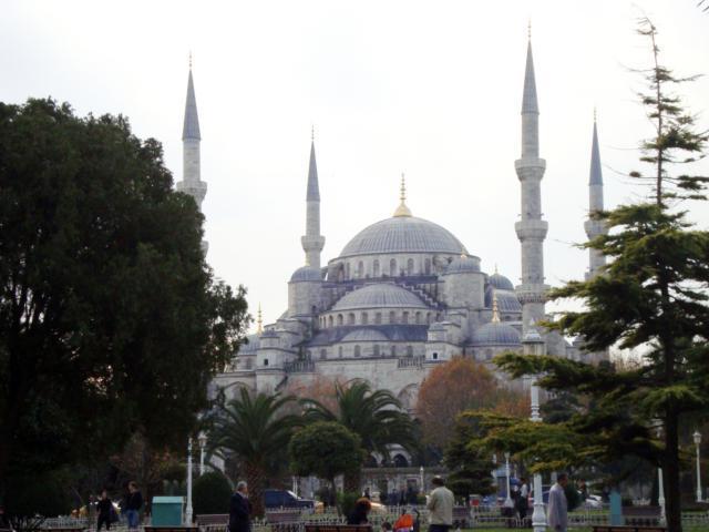 Голубая мечеть, оригинал