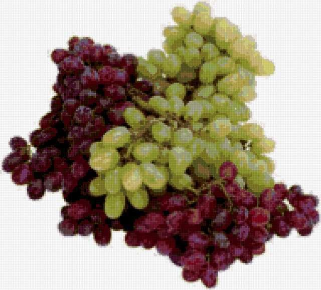 Гроздья винограда на кухню,