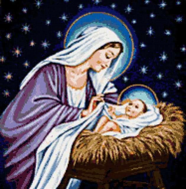 Мария и ИИСУС, предпросмотр