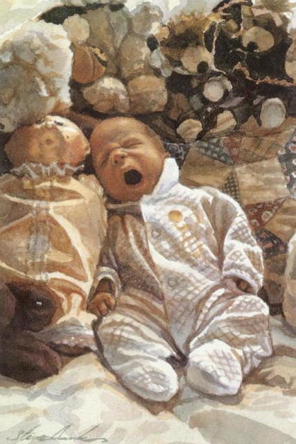 Лоскутное одеяло , дети