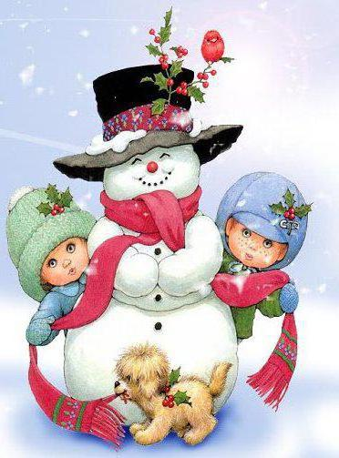 Снеговик, оригинал