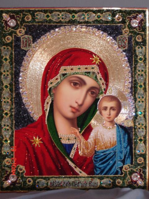 Казанская Божья Матерь, иконы,