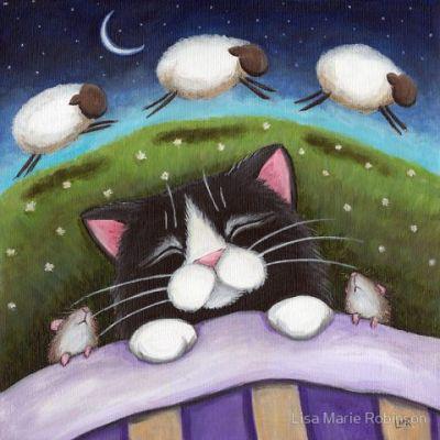 Сладкие сны, кошки