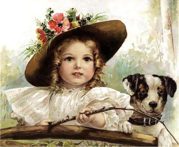 Дети викторианской эпохи..