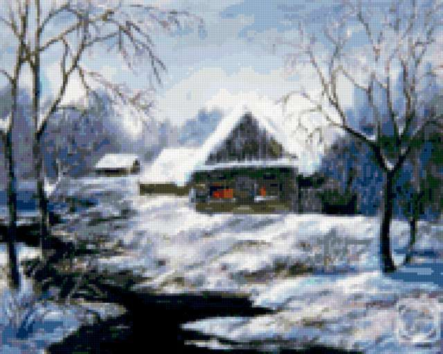 Зимняя тишина, предпросмотр