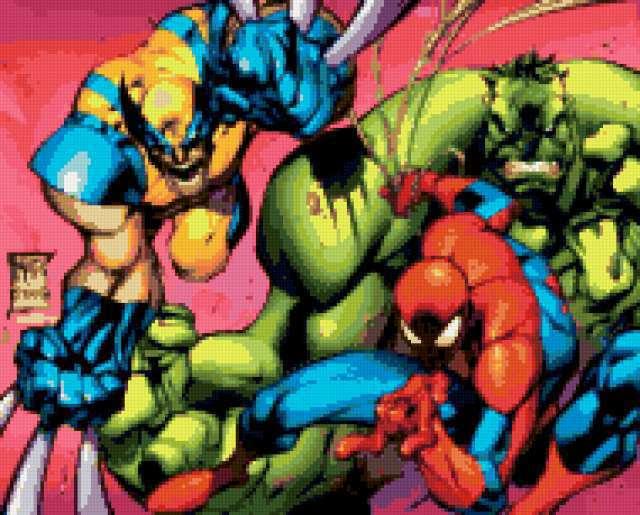 Человек паук и его друзья,