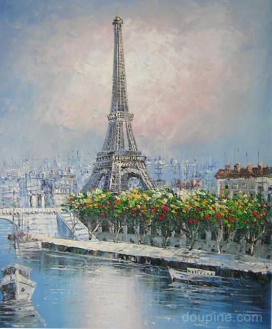Париж, париж, картина