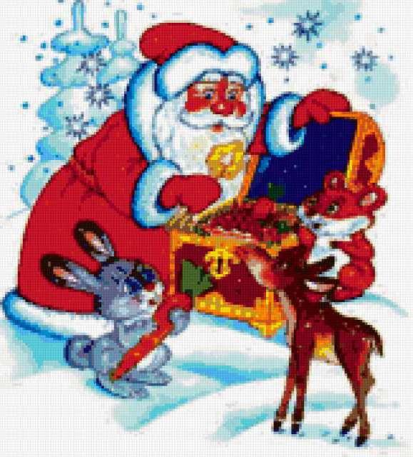 Подарки дед Мороза
