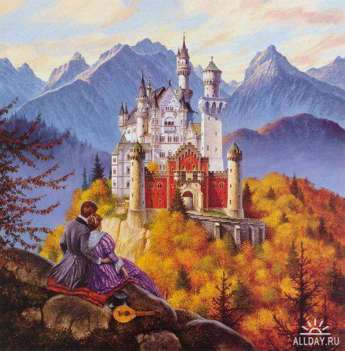 Замок мечты, замки, дома