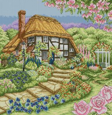 Сельский домик, домик