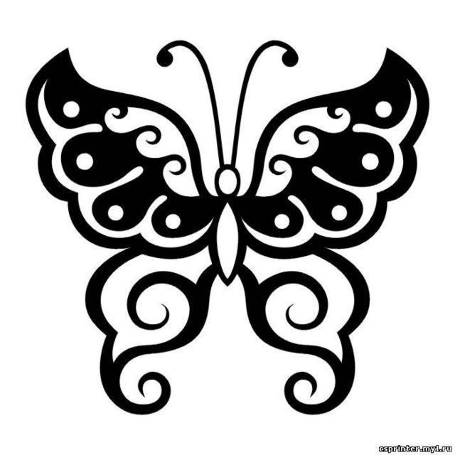 Бабочка тату, оригинал