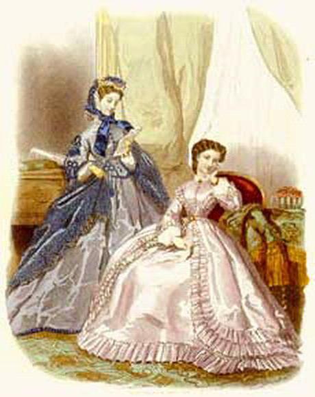 Дамы 18 века, оригинал