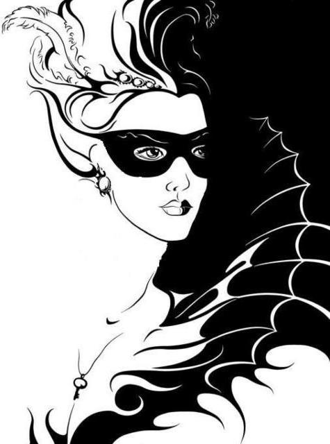 девушка, бабочка, глаза,