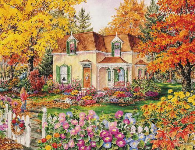 Сказочный домик 5, сказка дом