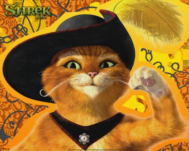 Кот в сапогах, оригинал