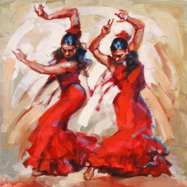 К схеме вышивки «Танцовщицы