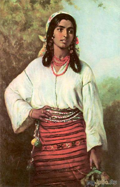 Румынская цыганка, оригинал