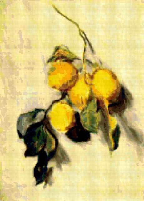Лимоны, Моне, предпросмотр