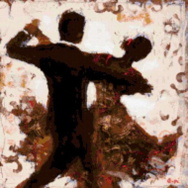 Танец, пара, танец, он и она,