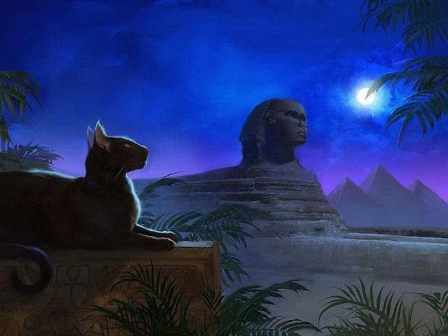 Кошки египта, оригинал