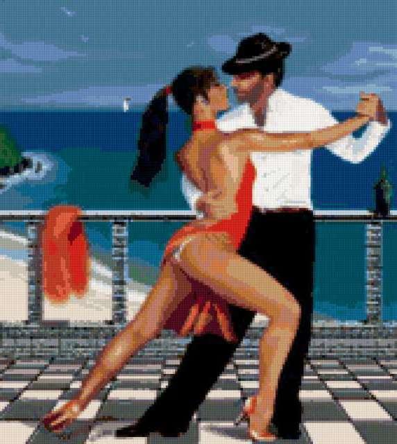 Страстное танго , предпросмотр