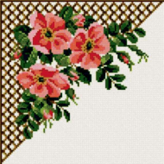 Шиповник, цветы, букет