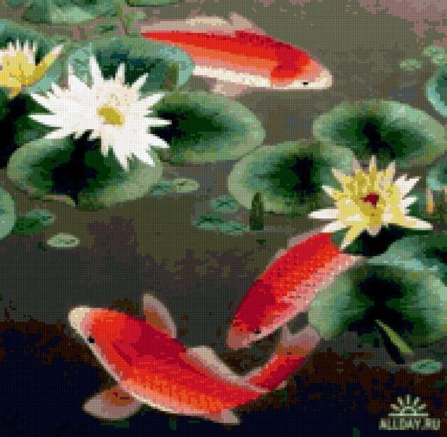 Рыбы-символ богатства