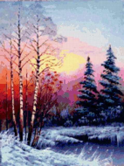 Зимний вечер..., предпросмотр