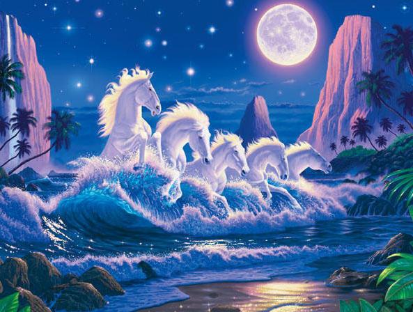 Лунные лошадки, оригинал