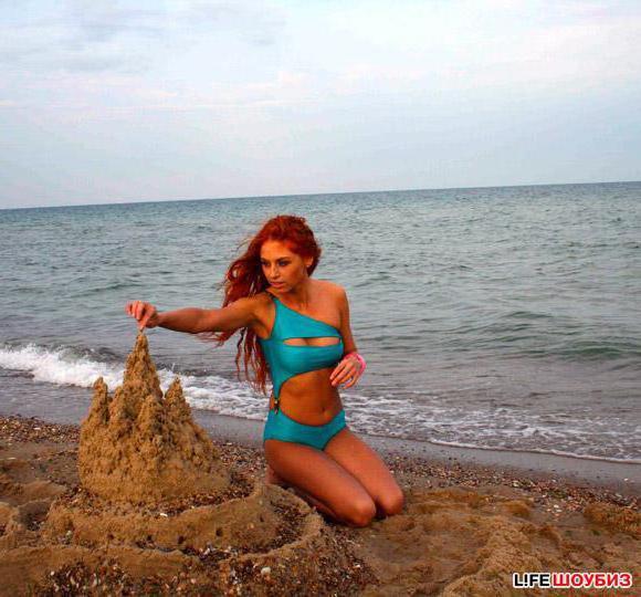 Песчаный замок, море, песок,