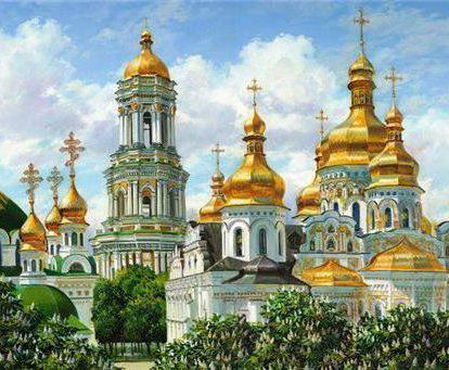 Золотые купола, религия, храм,