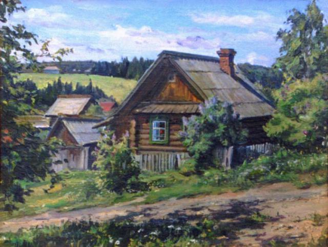 Домик в деревне, оригинал