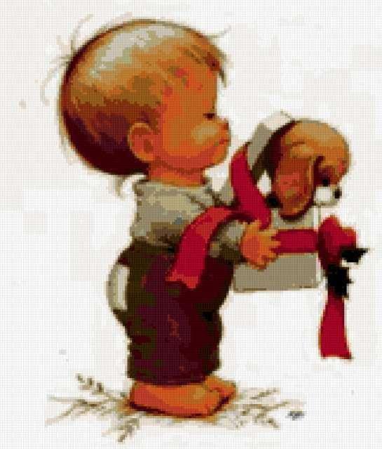 Щенок в подарок, предпросмотр