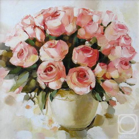 Садыкова Диана. Розы, картины,