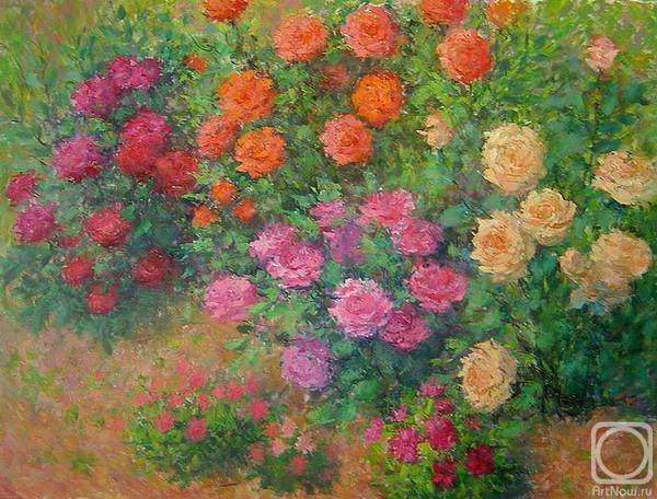 Лесничая Юлия. Мой розовый сад