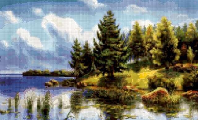 Русские пейзажи, пейзаж.