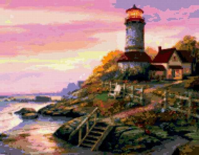 Домик смотрителя маяка