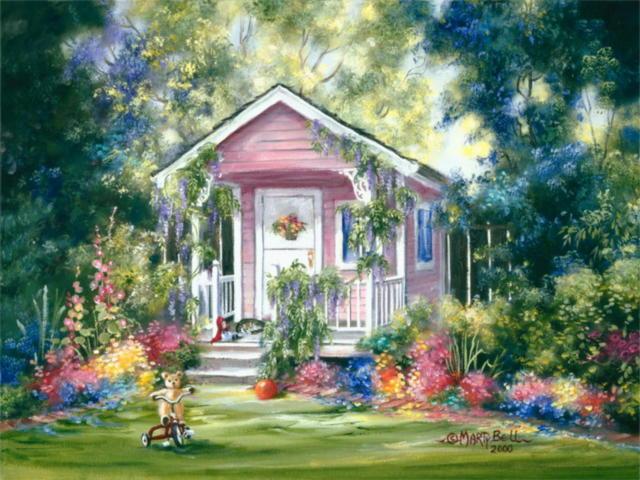 Сказочные домики, оригинал