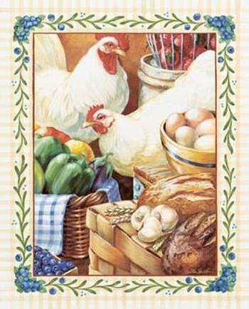 , country kitchen decoration