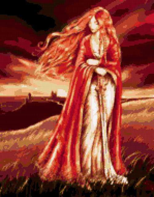 Рыжеволосая леди, предпросмотр