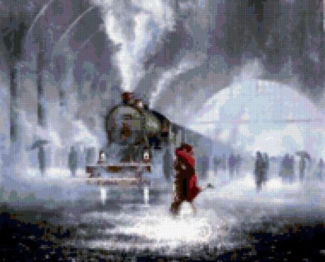 Дождь в городе, предпросмотр