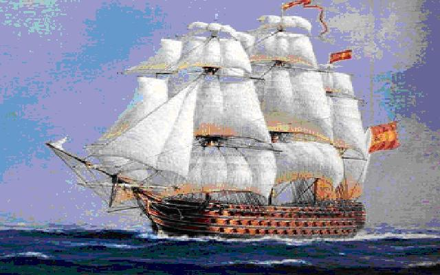 Испанский корабль, оригинал